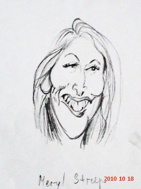 Meryl Streep by lucysh